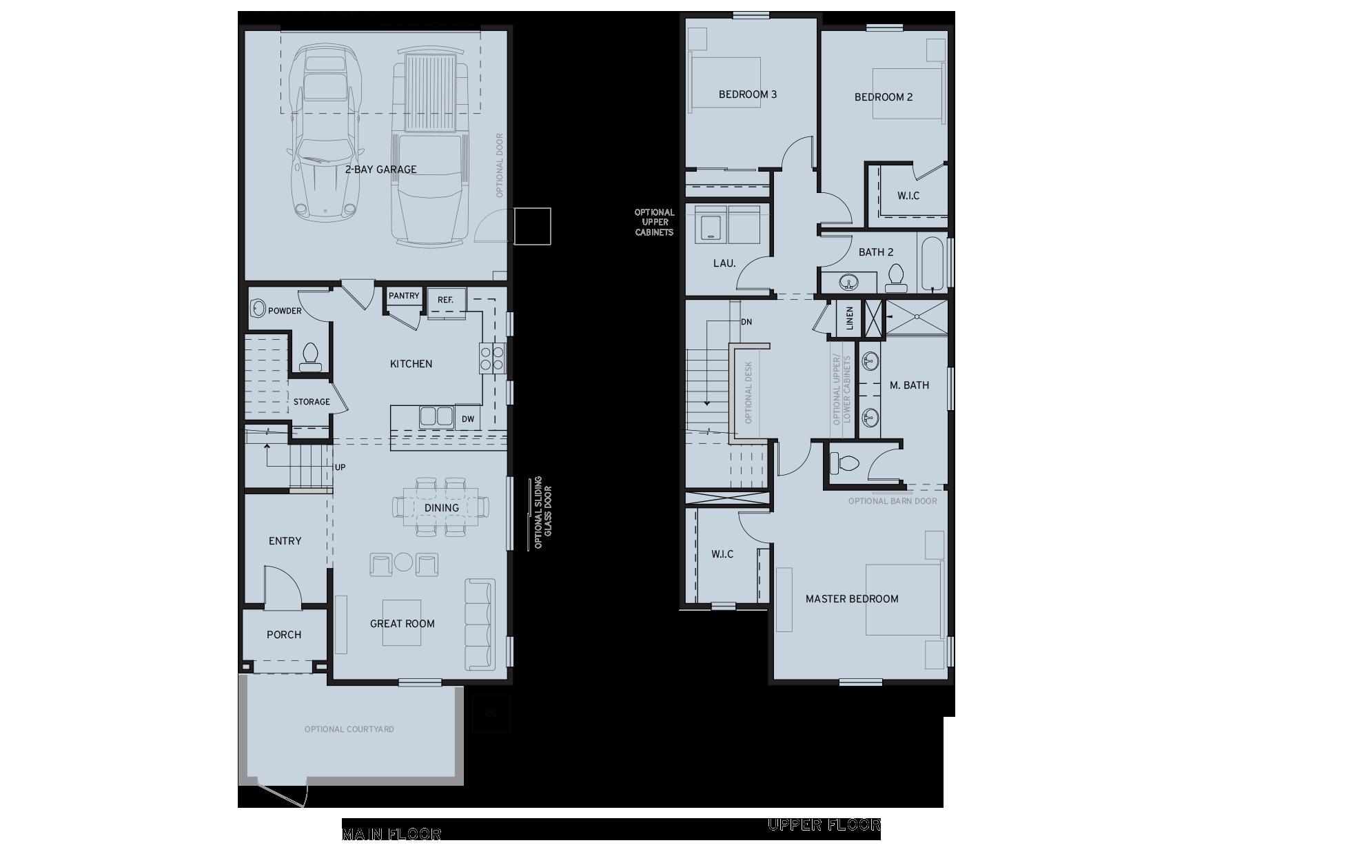 New Home Floorplans New Homes Sacramento Ca Riverchase