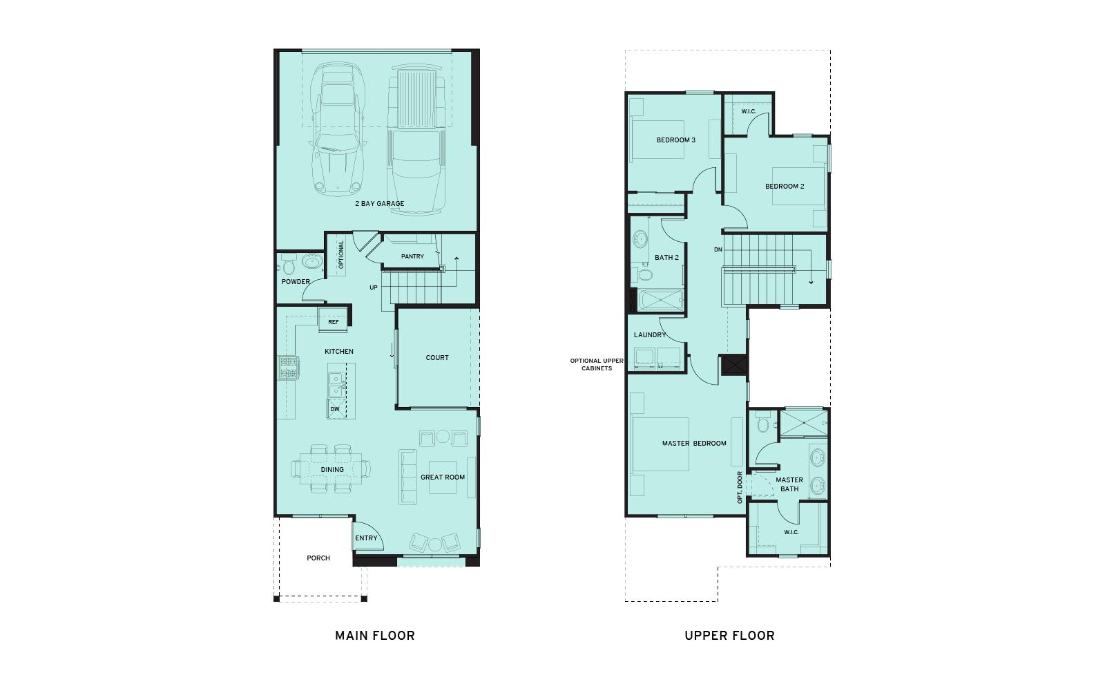 New Home Floorplans | New Homes Sacramento CA | Riverchase